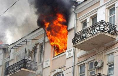 Несоблюдение жителями правил пожарной безопасности приводит к пожарам