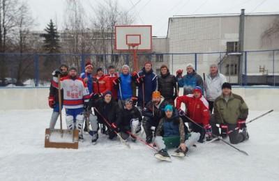 Участники хоккейных игр в Братееве
