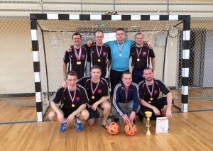 Команда по мини-футболу из Братеева