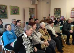 Посетители лекции о Чуковском