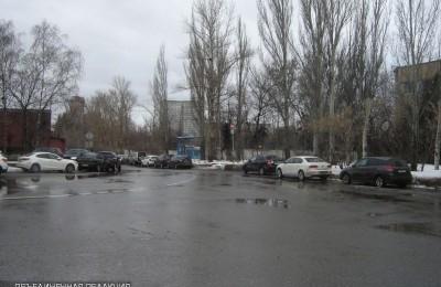 Парковка в Даниловском районе