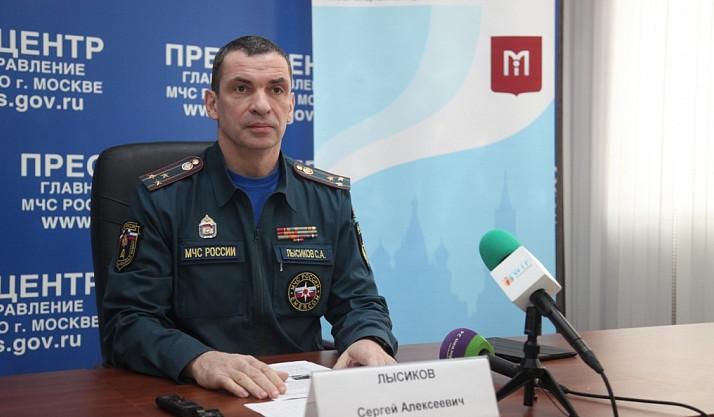 Сергей Лысиков: Количество пожаров в столицеРФ снизилось на10 процентов