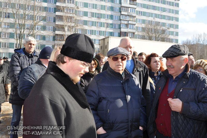 «200 храмов»: вЮАО продолжается программа возведения православных объектов