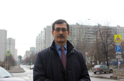 Депутат муниципального округа Братеево Александр Серегин