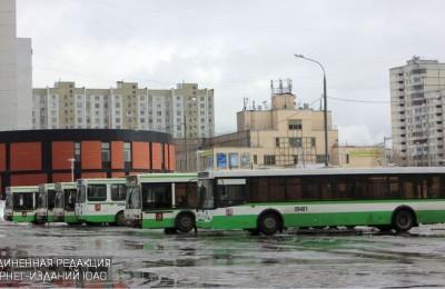 Автобусы в районе Братеево