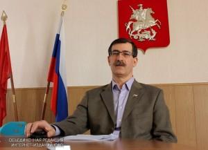 Депутат Александр Серегин