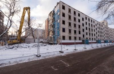 Дом, ожидающий сноса по программе реновации ветхого жилья