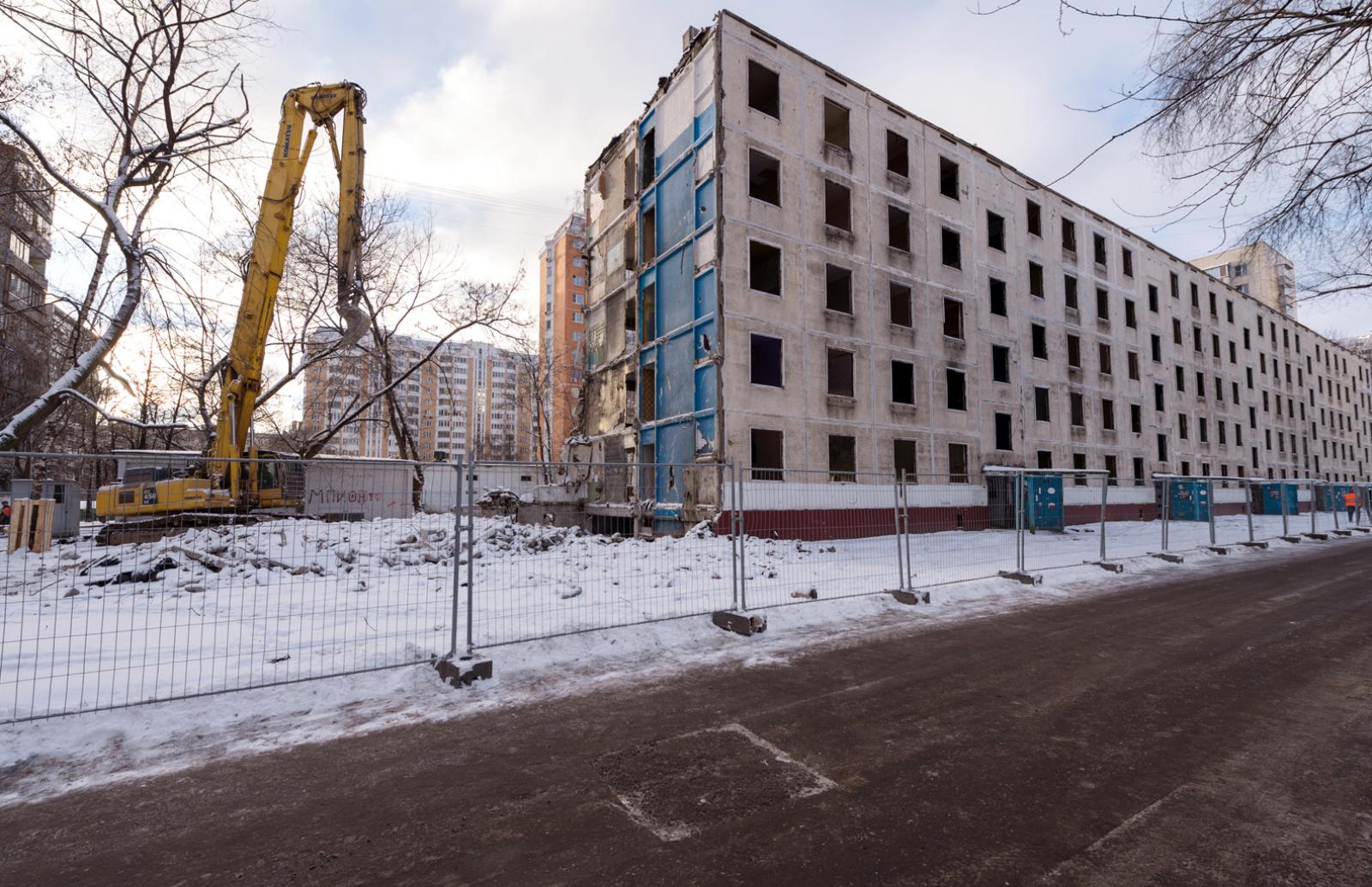 Комиссия мосгордумы одобрила законодательный проект огарантиях при сносе пятиэтажек