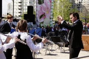 Духовой оркестр Детской школы искусств №10