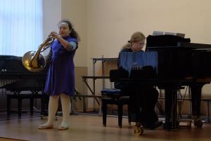 Концерт по случаю Дня открытых дверей в школе искусств №10