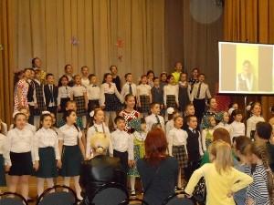 Концерт творческих коллективов школы №998