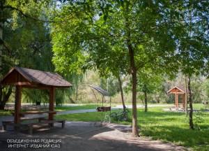 Парковая зона в районе Братеево