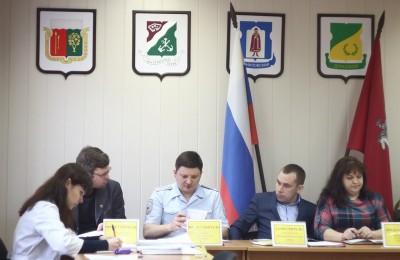 Работа призывной комиссии в районе Братеево