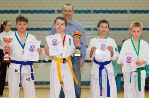 Участники турнира по карате в районе Братеево