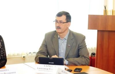 Александр Серегин, депутат муниципального округа Братеево