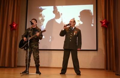 Патриотический концерт в Братееве