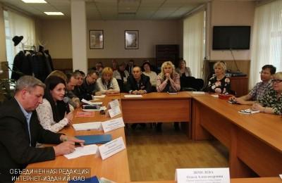 Круглый стол по вопросам ЖКХ и благоустройства прошел в районе Братеево