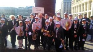 Воспитанники районной школы искусств №10 на фестивале у стен Кремля