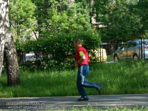 Житель ЮАО на пробежке