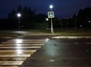 Неправильно размещенный светофор