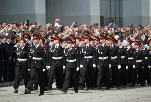Парад кадет в столицеРФ соберет неменее 2 500 участников