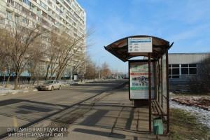 Автобусная остановка в ЮАО