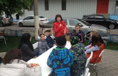 Дети района приняли участие в программе ко дню рождения Пушкина
