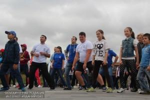 Жители ЮАО на спортивном мероприятии