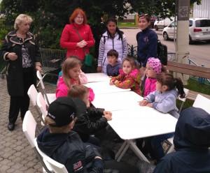 Интерактивный мастер-класс для детей прошёл на свежем воздухе