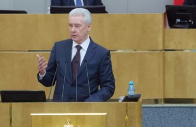 Мэр Москвы Сергей Собянин осмотрел Славянскую площадь