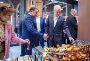 Мэр Москвы Сергей Собянин на открытии межрегиональной ярмарки