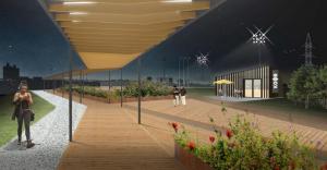 Проект благоустройства пространства в Братеевскойй пойме