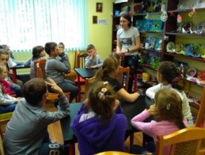 Ребята посетили игротеку в библиотеке