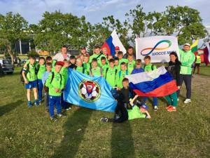 Футболисты из Братеева на турнире в Эстонии