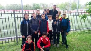 Футболисты района познакомились с известным игроком и тренером Сергеем Семаком