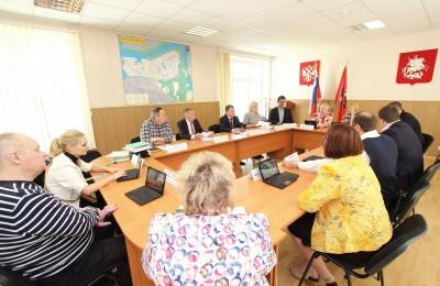 Заседание Совета депутатов в районе Братеево
