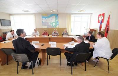 Заседание Координационного совета в районе Братеево