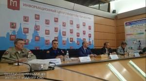 Начальник ГКУ «Пожарно-спасательный центр города Москвы» Евгений Савицкий рассказал об обеспечении пожарной безопасности