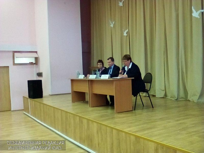 Глава управы района Братеево Александр Воробьев встретился с местными жителями