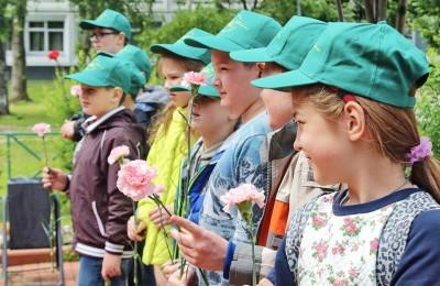 В Братеево почтили День памяти и скорби