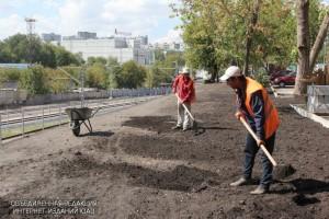 В Братееве обновят газоны