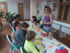 Дети создали блокноты своими руками