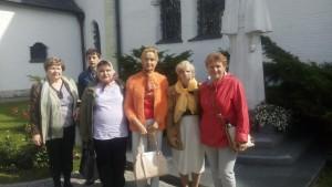 Получатели социальных услуг на экскурсии в монастыре