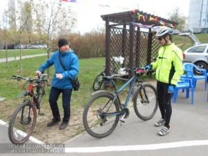 Участники одного из велопробегов ЮАО