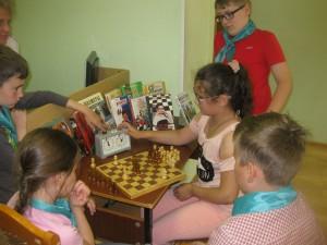 Шахматный турнир в библиотеке