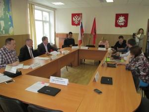 Заседание Совета депутатов района Братеево