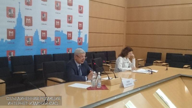 Сергей Левкин провел брифинг, посвященный итогам градостроительной политике в Москве