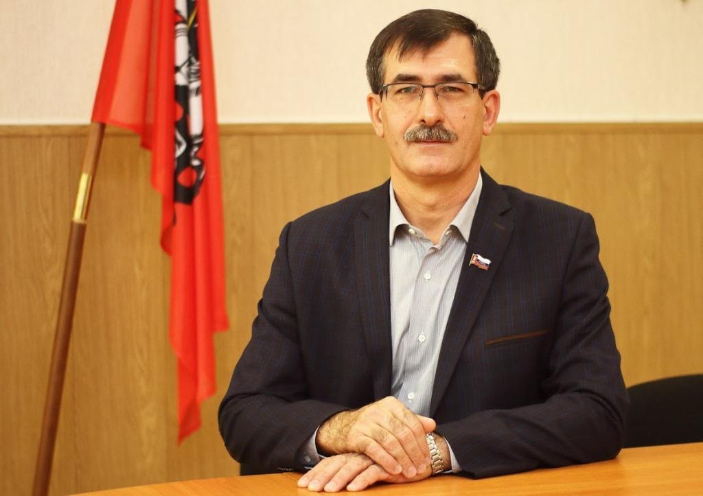 Глава муниципального округа Братеево Александр Серегин.