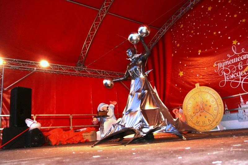 Городской фестиваль «Путешествие в Рождество» открылся в ЮАО