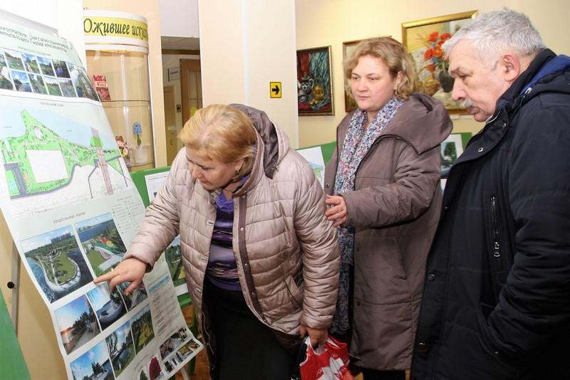 В Братеево состоялись публичные обсуждения по проекту благоустройства